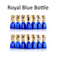 IBN Realgel nail gel polish private label blue royal bottle