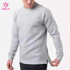 En gros Gym Sweat-Shirts Hommes Sweat-Shirt À Encolure Ras Du Cou