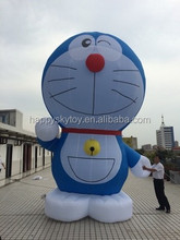 hign quality advertising cartoon, doraemon themed inflatable cartoon character for sale