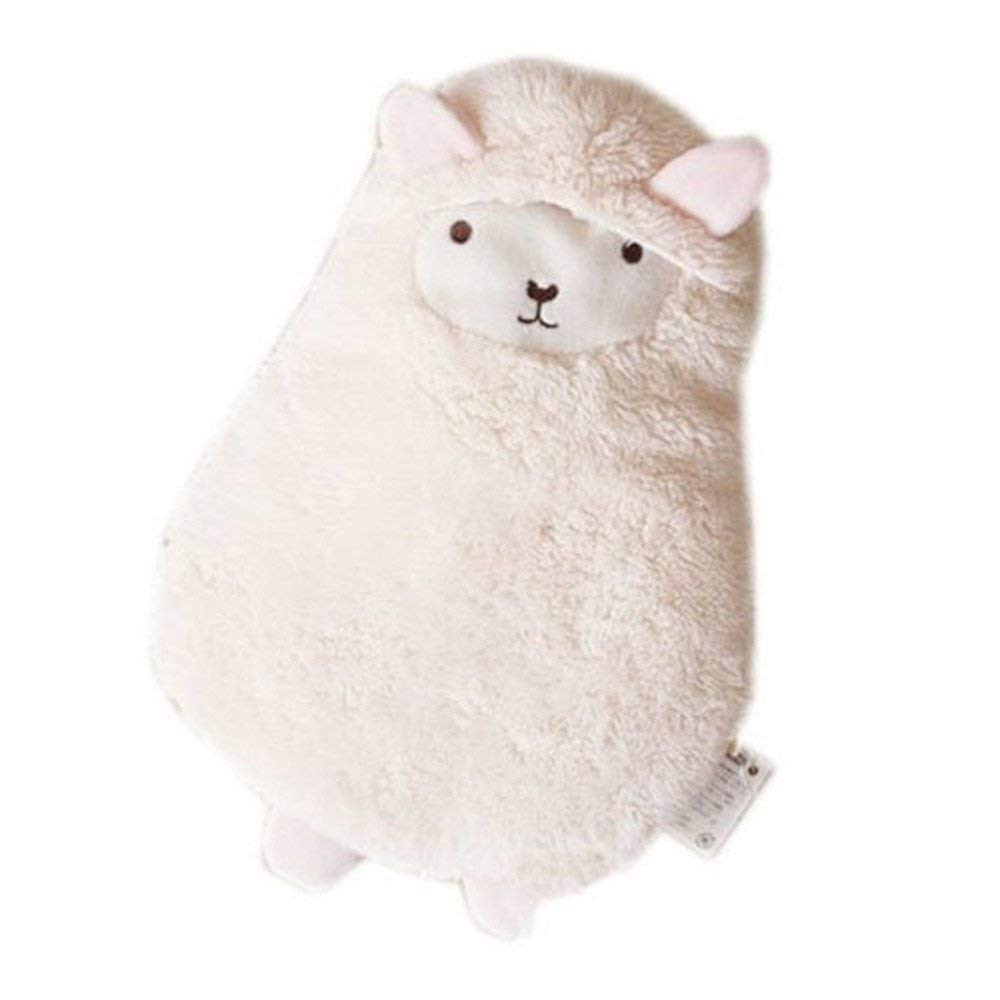 Kangkang@ Cute White Alpaca Hot Water Bottle 600ML