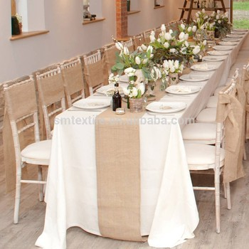 Delicieux Wholesale Rectangle Linen Table Runner/Burlap Table Runner
