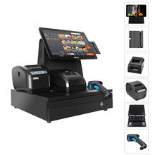 "Odm All In One Pos Systeem 14.1 ""Touch Screen Windows/Android <span class=keywords><strong>Kassa</strong></span> Voor Supermarkt"