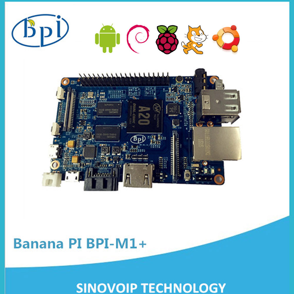 Customized friendly Banana Pi Mini PC have SATA ethernet port/ A20 ARM/1GB DDR3/better than BeagleBone Green board