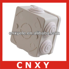 Waterproof knockout junction box 85*85*50mm with cable entry