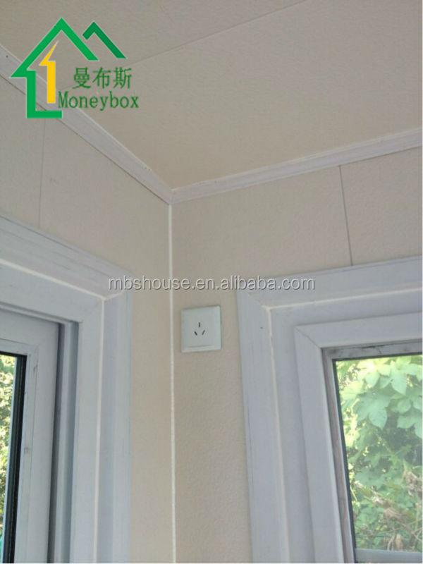 Modern Guard House Design: Modern Eps Panel Wall With Metal Decorative Panel Modular