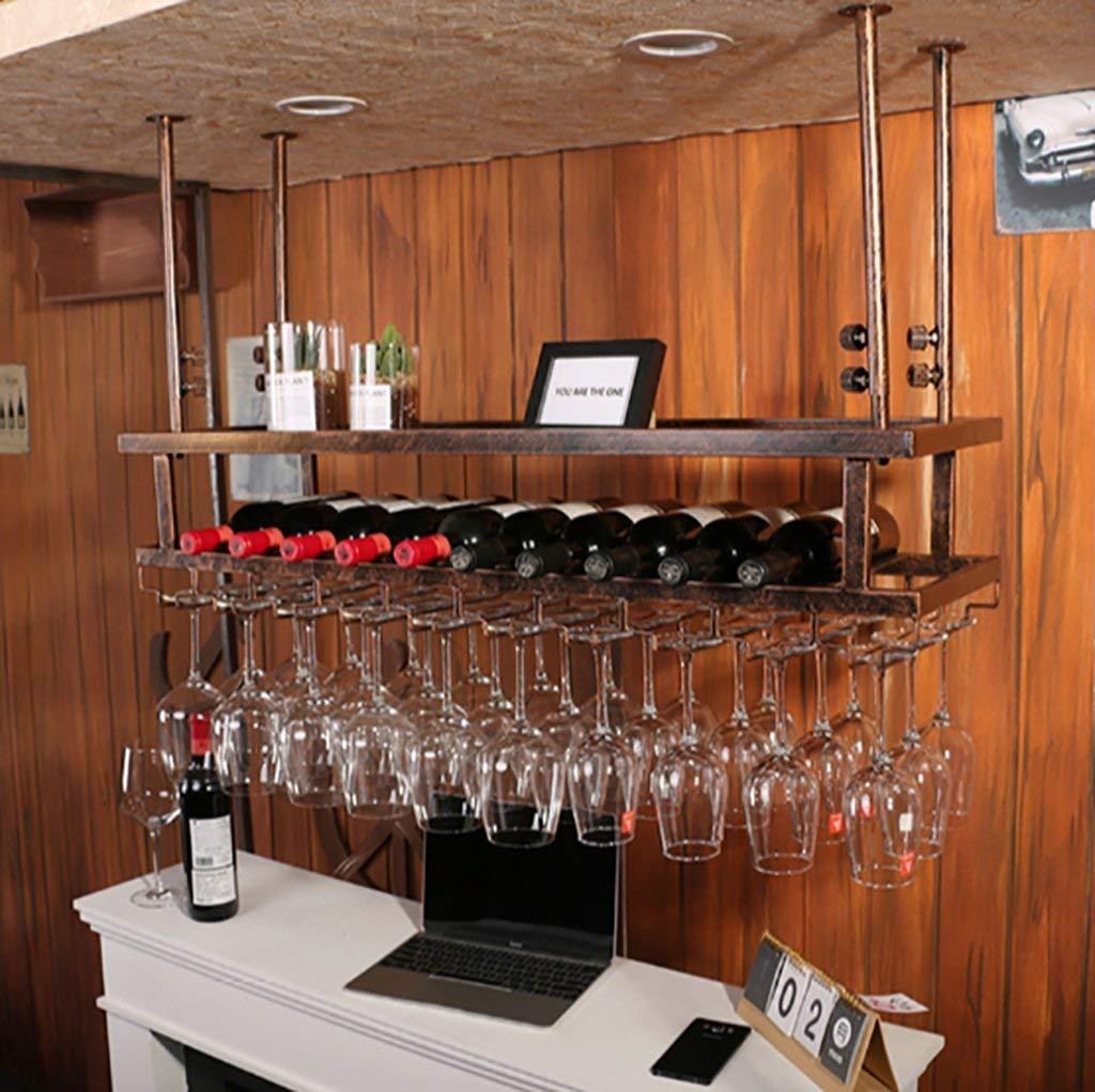 Buy Fafz Hanging Red Wine Stemware Racks Ceiling Mounted