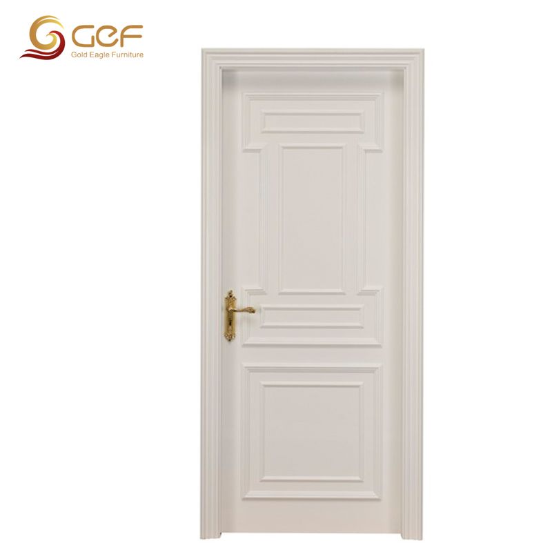 Plain White Door classic design white wooden door, classic design white wooden door