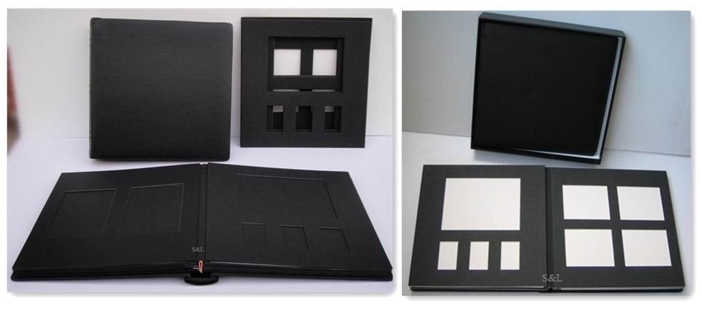 handmade paper photo album factory in china wholesale with box