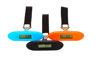 Modern design TS-S009 portable luggage scale travel mini scale LCD