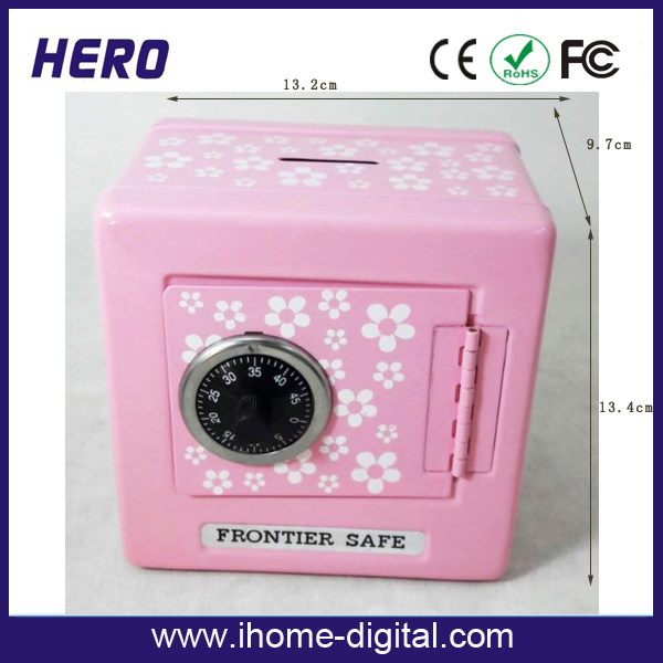 custom kids money safe bank painted piggy banks factory digital display money safe box
