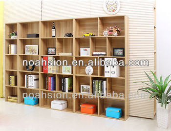 Cheap Wooden Wall Bookcases Bookshelf Design