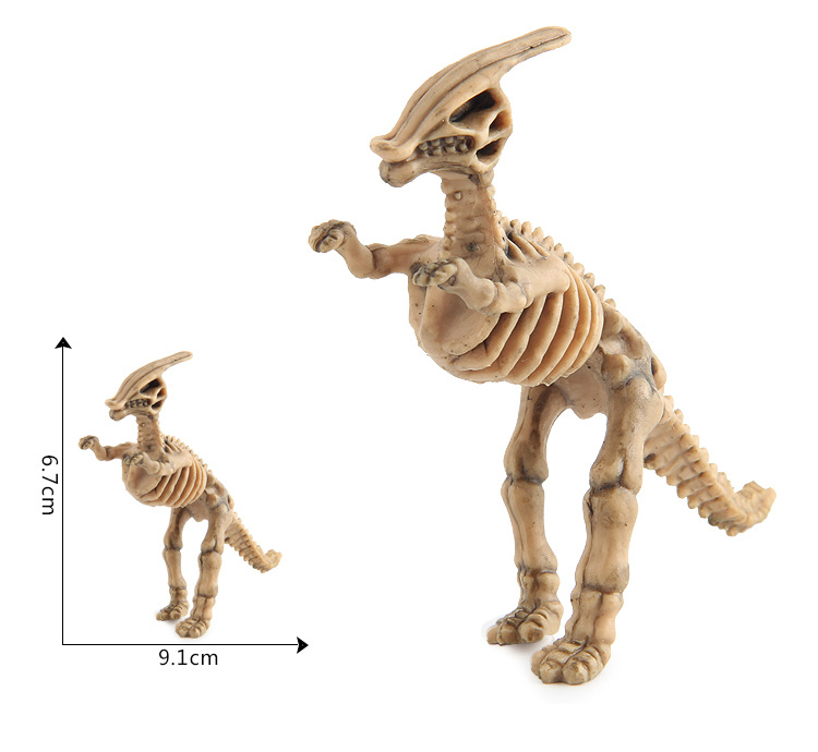 New Plastic Dino Skeleton Dig Dinosaur Fossil Toys for Kids