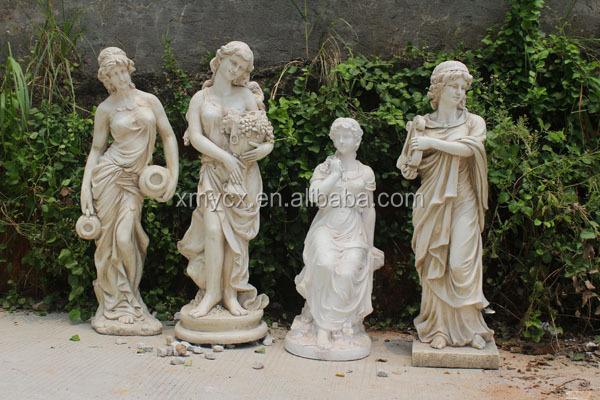 Life size fiber statue garden decoration outdoor for sale, View ...