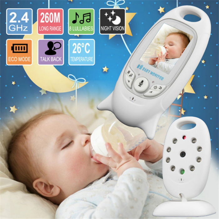 The Most Popular VB601 2.0 Inch LCD Screen Recordable Temperature Monitoring Digital Audio Video Baby Monitor Camera