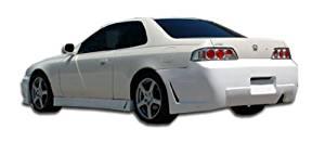 1997-2001 Honda Prelude Duraflex B-2 Rear Bumper Cover - 1 Piece