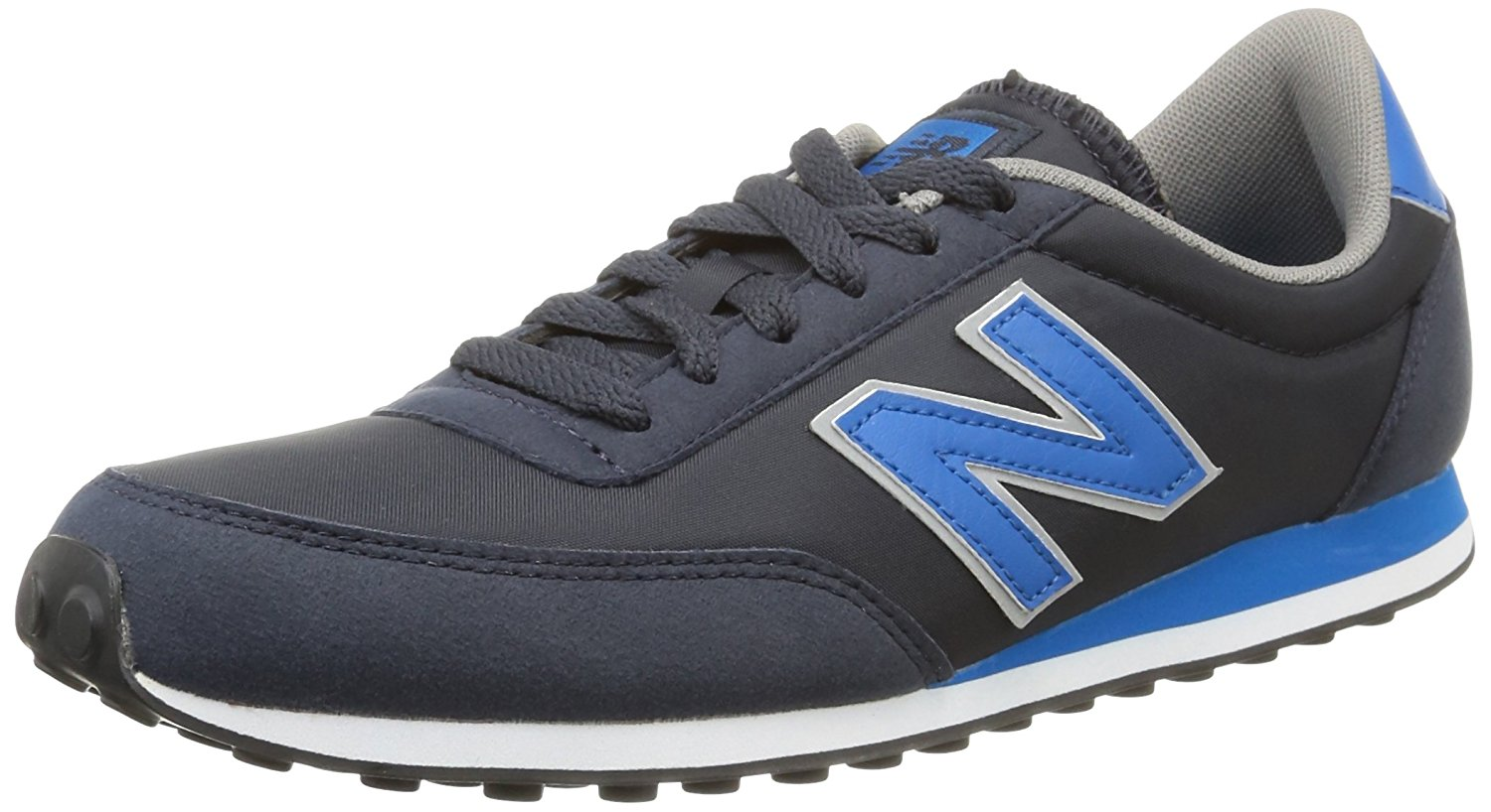 New Balance Mens U410cpa Low-Top Lace-Up Trainers Blue Size 44