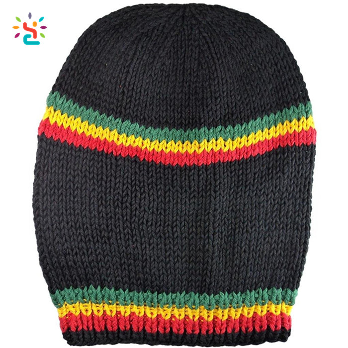 Free Rasta Hat Crochet Pattern Handmade Felt Hats Knitted Beanie Cap