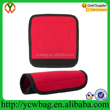 Custome Neoprene Red Luggage Handle Gripper Pad