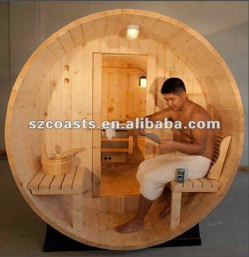 4 personen im freien fass sauna zimmer sauna mit. Black Bedroom Furniture Sets. Home Design Ideas