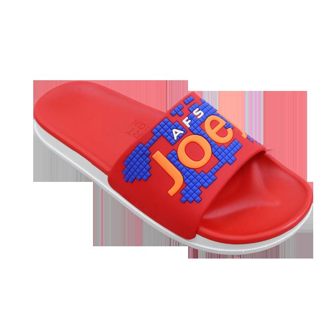 Fashion custom logo man outdoor sliders slippers chappal for men