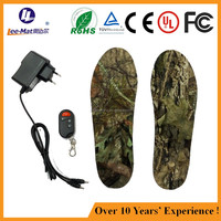 New product for distributers remote heated insole wireless heated foot wear