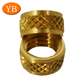 Precision Aluminum Brass Stainless Steel Insulating Glass Spacer TS16949 Passed