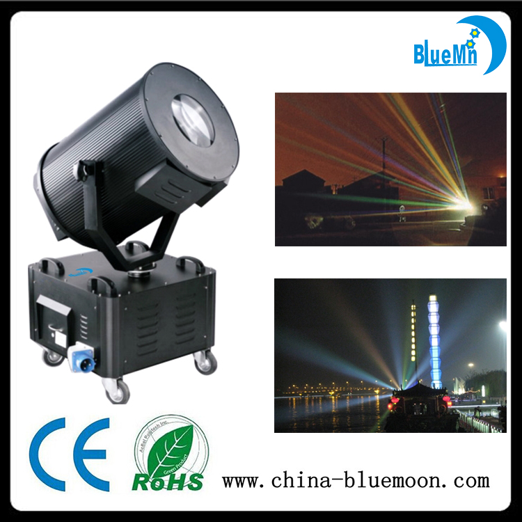 Outdoor sky rose tracker 2000W moving head discolor searchlight