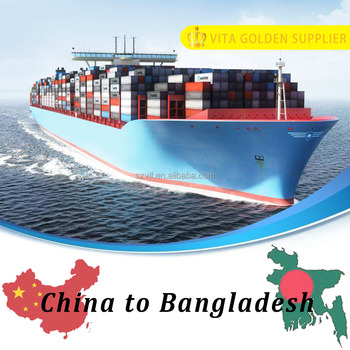 Cheap Sea freight rates ocean freight rates from shenzhen to Chittagong