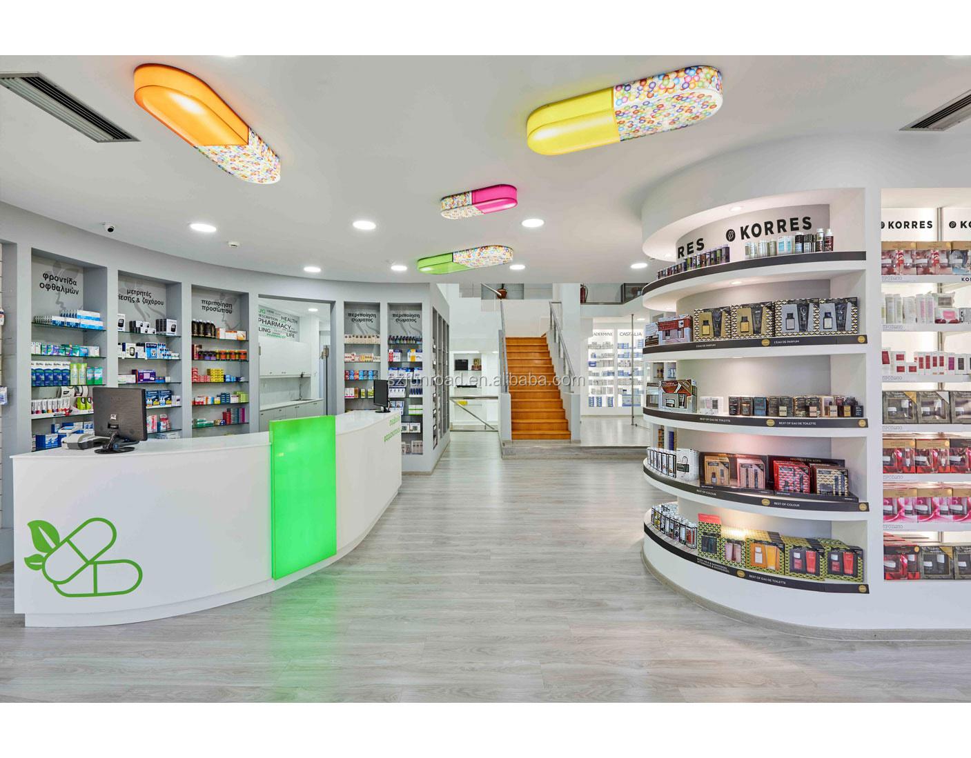 Farmacia Tienda De Muebles Con Phamarcy Estante De Exhibici N  # Muebles Farmacia