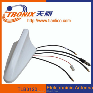 car shark fin antena , automotive shark fin car antenna , auto shark fin type aerial