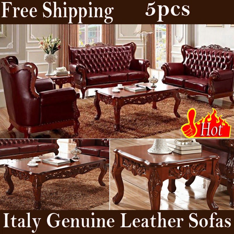 Cheap Sofas Free Shipping: Popular Leather Cowhide Sofas-Buy Cheap Leather Cowhide