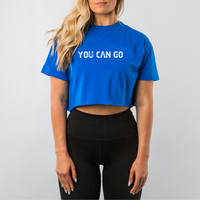Hot Sales Sports Wear T Shirt Womens Crop Top T Shirt Wholesale Price
