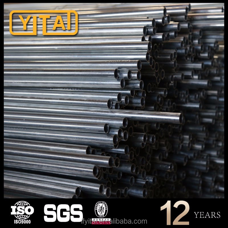 galvanized surface smooth external threaded steel tube outside threaded tube