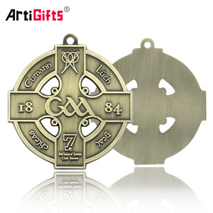 Stainless Steel Copper Custom Catholic Religious Medal And Cross Wholesale