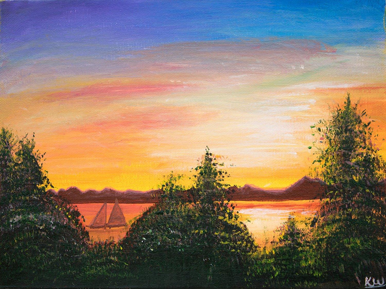 Buy Original Painting Modern Art Acrylic Painting Scenery Paintings