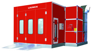 CE original and durable LAUNCH CCH-201 standard car small dry paint spray booths