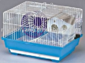 wire hamster cage 2 Levels Ladder Big Metal Ferret Cage Chinchilla Cage