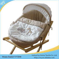 new designs Sleeping moses baby basket baby doll basket