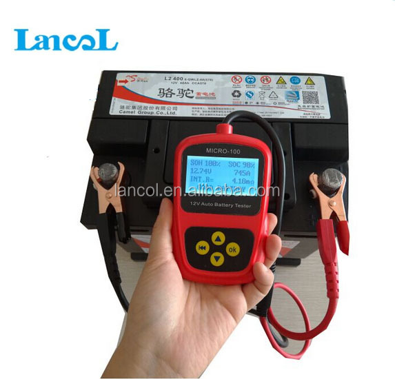 Auto battery tester/Car battery tester MICRO-100 Conductance Tester and Analyzer for automobile repair shop