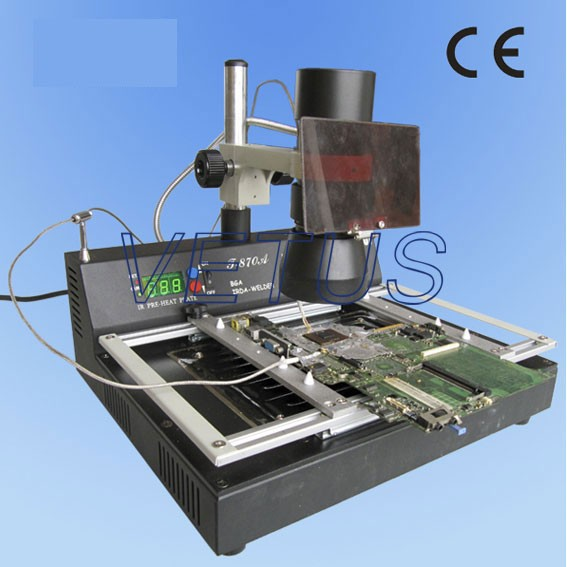 T870A T-870A IRDA Soldering Welder 35 - 50 mm soldering station Infrared BGA Rework Station