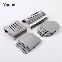 Stainless Steel New Design Top Quality Car Coaster / Cup Mat / Cup Pad