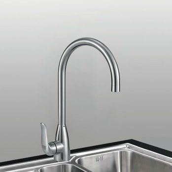 Factory supply UPC 304 Stainless Steel Standard Kitchen Faucet