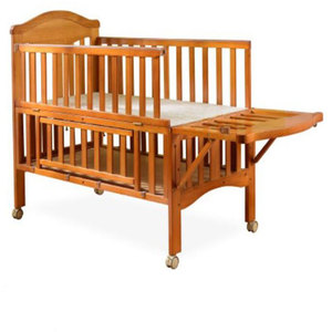 Multi-function durable pine wooden baby shaking cot crib/baby bassinet /baby travel bed