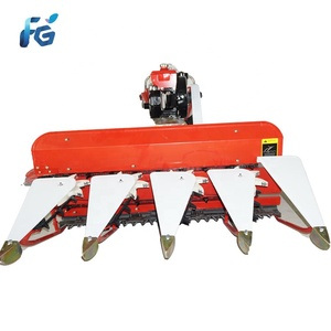 Mini wheat reaper 4g120a pakistan reaper grain wheat cutting machine mini  rice reaper harvester