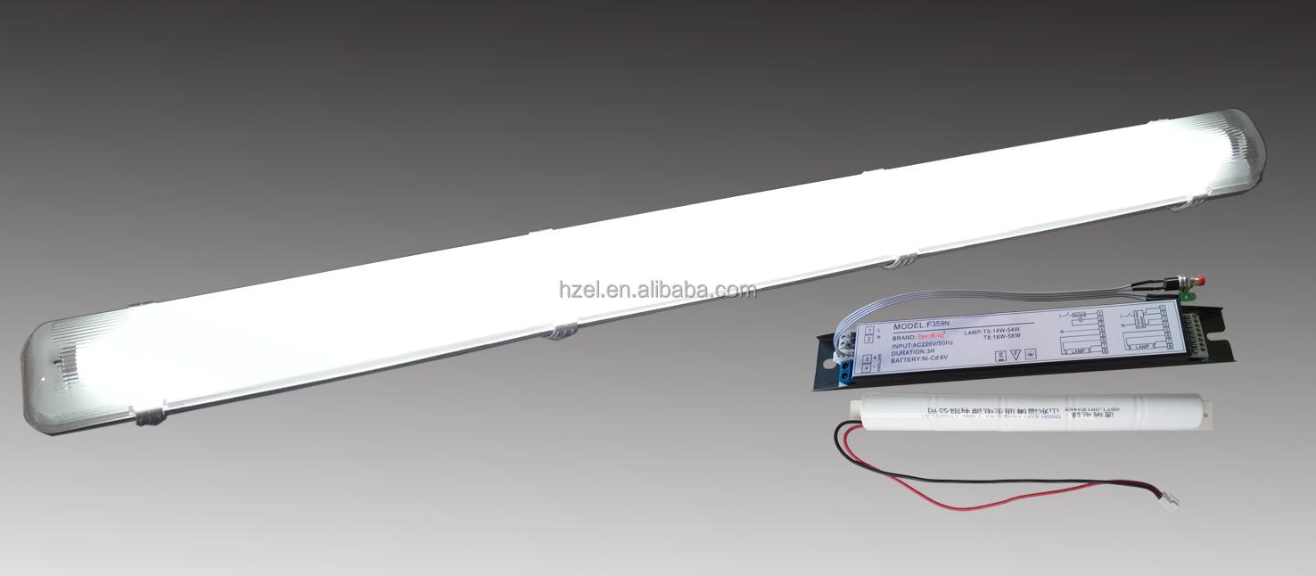 rechargeable emergency lighting power equipment for fluorescent tubes. Black Bedroom Furniture Sets. Home Design Ideas