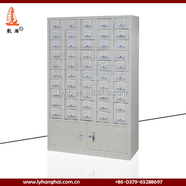 Nice Assembly Traditional Chinese Medicine Cabinet Spraying Hospital Pharmacy  New Style Steel Medicine Cabinet Used In Hospital
