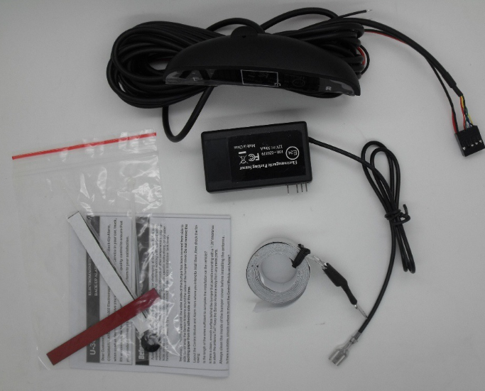 Electromagnetic Parking Sensor With LED Display and buzzer U-303