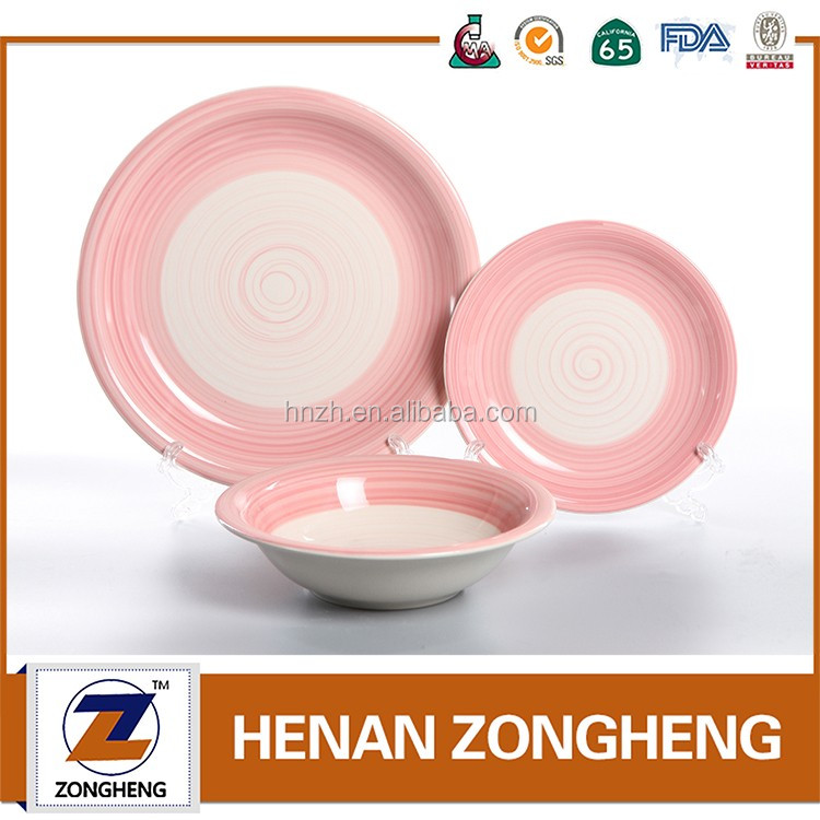 18pcs ceramic dinnerset with high quality,china supplier stoneware dinnerware