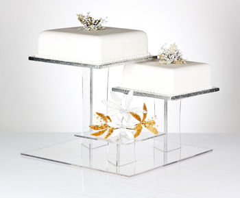 Exquisite clear acrylic cake stands/ perspex custom cake display stand / lucite cake plate & Exquisite Clear Acrylic Cake Stands/ Perspex Custom Cake Display ...