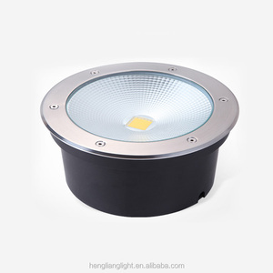 Super bright dimmable underground light 10w LED Inground Lamp pool Waterproof ip67 stainless steel Floor light gu10